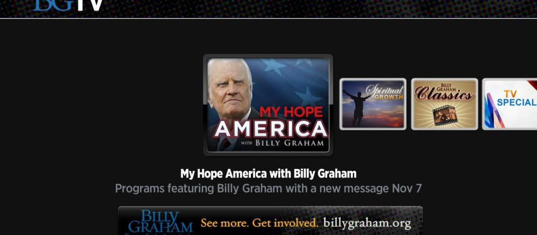 Watch Rev. Billy Graham Free On Your Roku