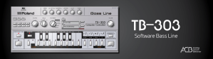 Roland Cloud Adds Roland TB-303 Software Bass Synthesizer to Legendary Series