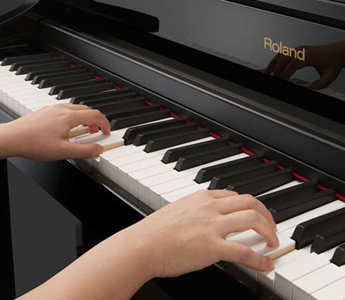 piano touch