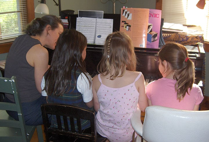 preparing for piano recitals and performances