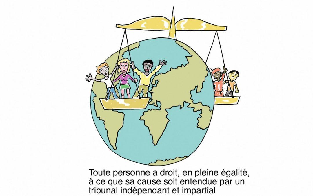 Article 10 de la Déclaration Universelle des Droits de l'Homme
