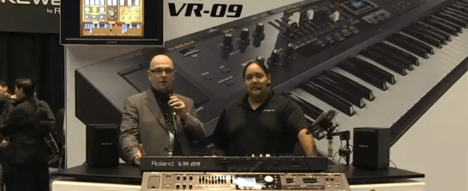 VR-09 Coverage at NAMM