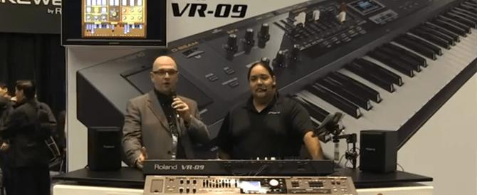 VR-09 Coverage at NAMM
