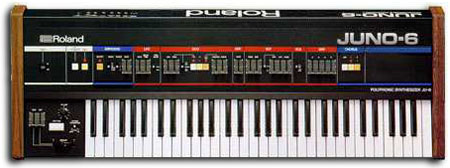 juno-6 Roland Synthesizer