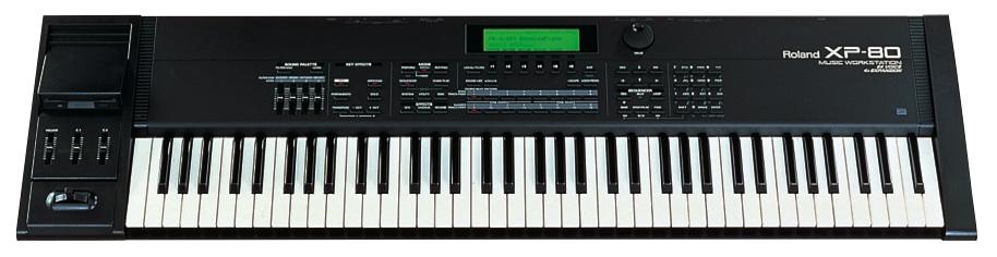 xp-80 Roland Synthesizer