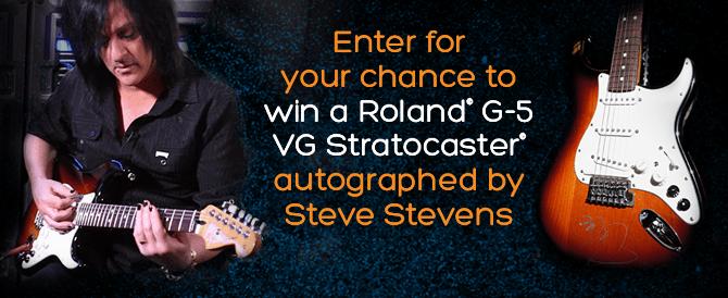Steve Stevens G-5 Give Away