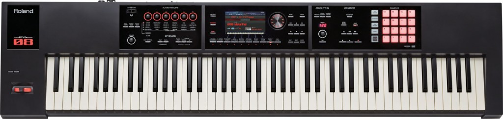 fa-08 music workstation