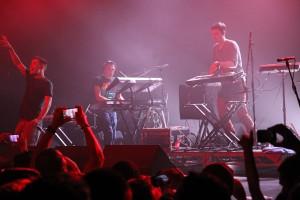 Netsky Live on stage