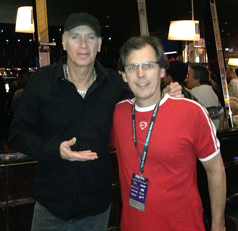 Wes with Billy Sheehan at Rock n Roll Fantasy Camp