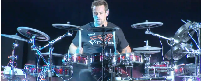 Thomas Lang using V-Drums with SuperNATURAL Technology