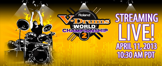 Roland V-Drums World Championship 2