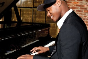 Javier Colon on Piano