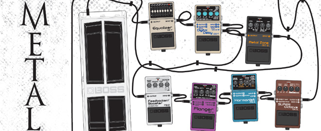 Metal Guitar Effects Combo marquee image