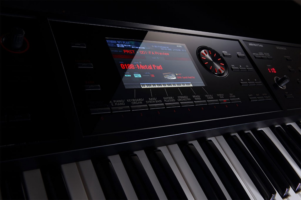 FA-06 Music Workstation Display