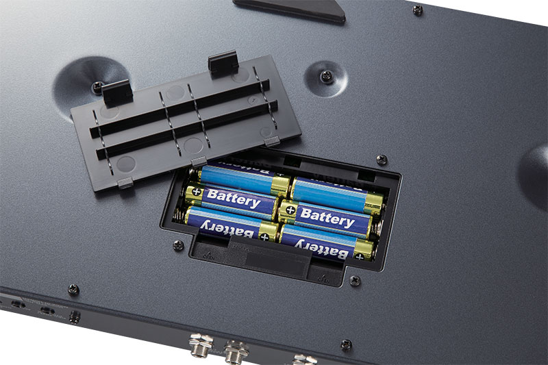 ME-80 Guitar Multiple Effects Battery Compartment