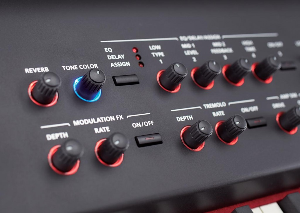 RD-800 Stage Piano Real-Time Controls