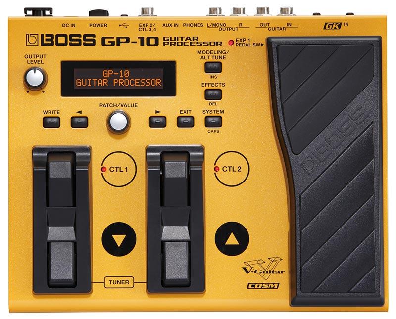 New BOSS GP-10 Guitar Processor - BOSS U S  Blog