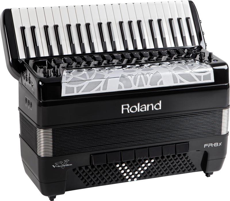 Roland FR-8x V-Accordion Version 2.0 in Black Finish