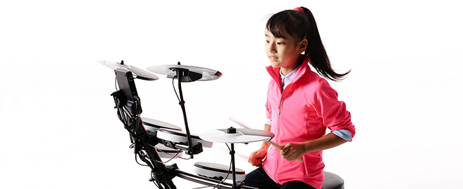 Kanade Sato Playing the TD-1KV V-Drums
