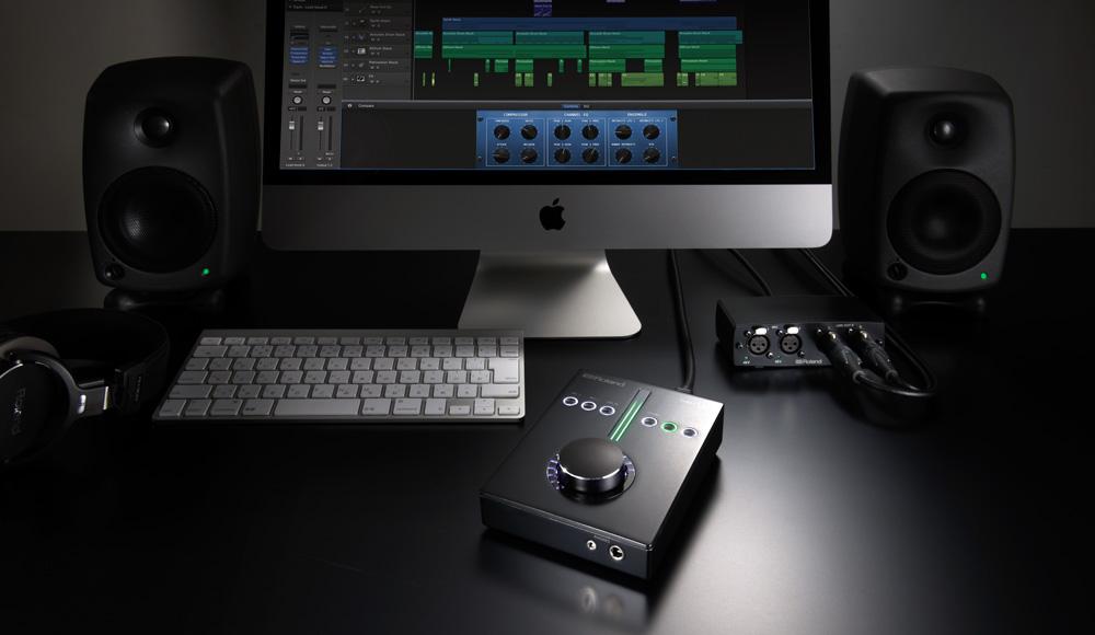 Super UA main unit and I/O module in the studio
