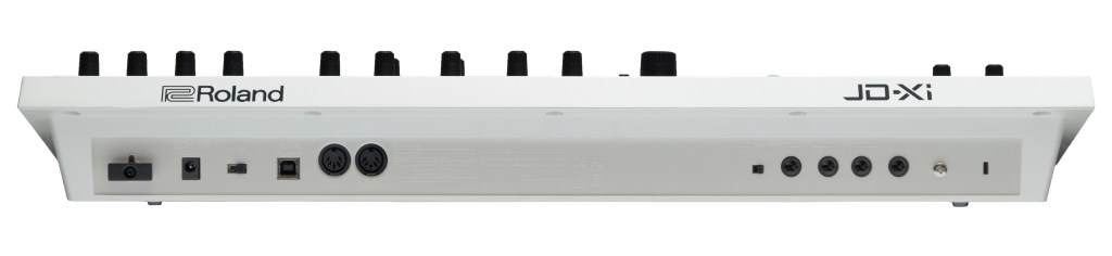 Rear panel of JD-Xi in White