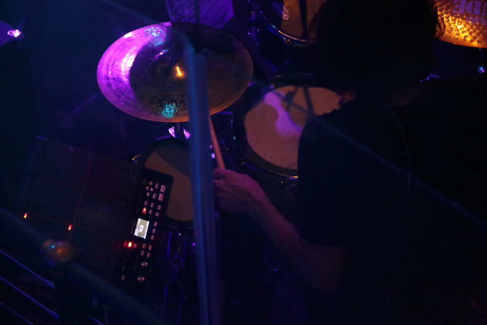 MOON drummer Tony Cupito with the Roland SPD-SX Sampling Pad