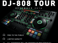 Serato x Roland DJ-808 Tour at Guitar Center
