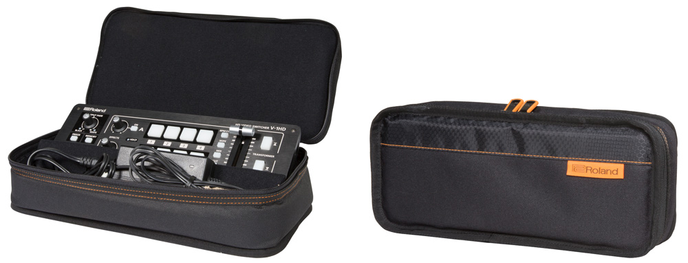 Black Series bag custom made for the V-1HD and V-1SDI.