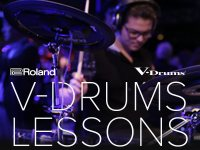 Build Your Skills with All-New V-Drums Lessons