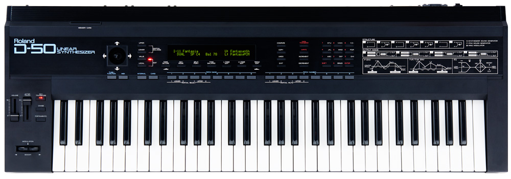 Roland D-50 Linear Synthesizer