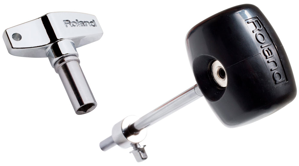 RDK-1 Drum Key and KPD-100 Self-Alligning Kick Drum Beater.