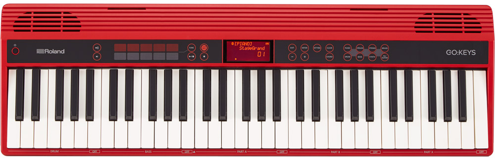 Roland GO:KEYS portable keyboard.
