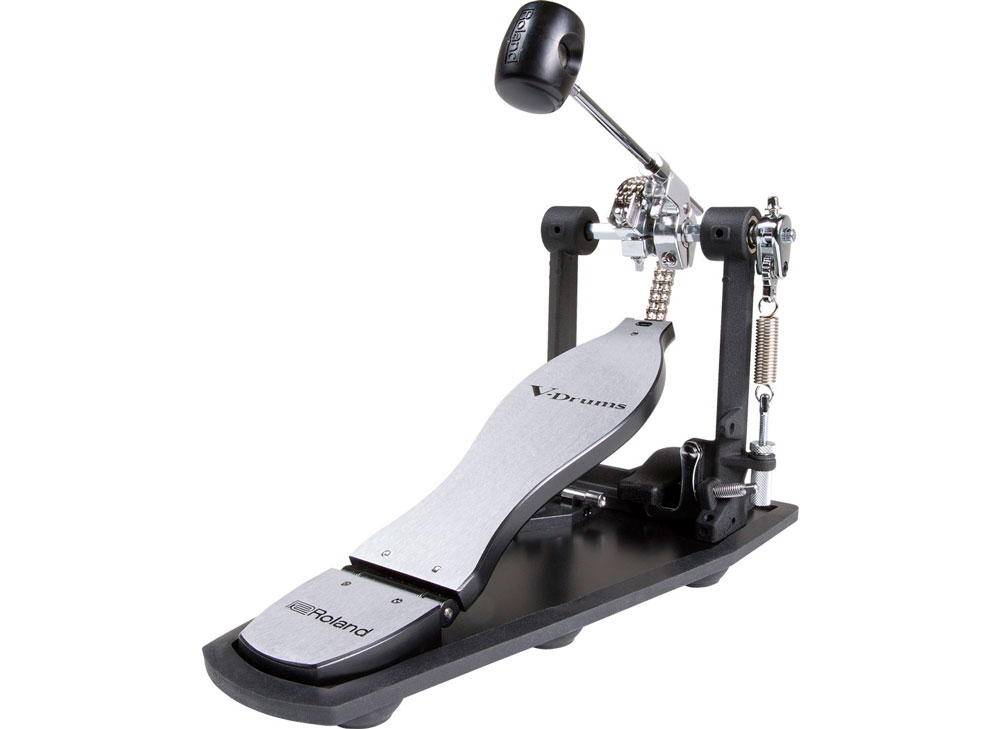 RDH-100 kick drum pedal with built-in Noise Eater system.