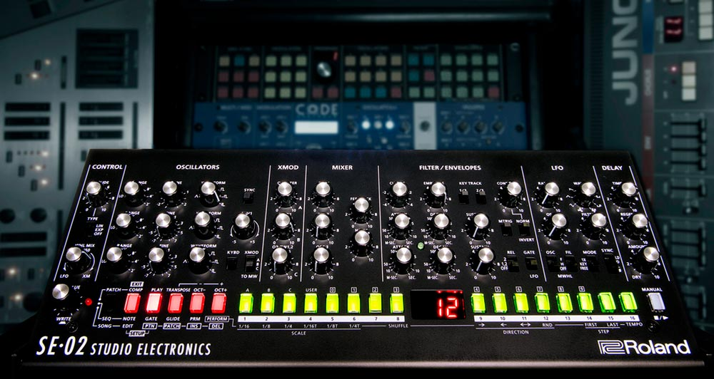 SE-02 Analog Synth Version 1 10: New Sounds, Enhanced Features, and
