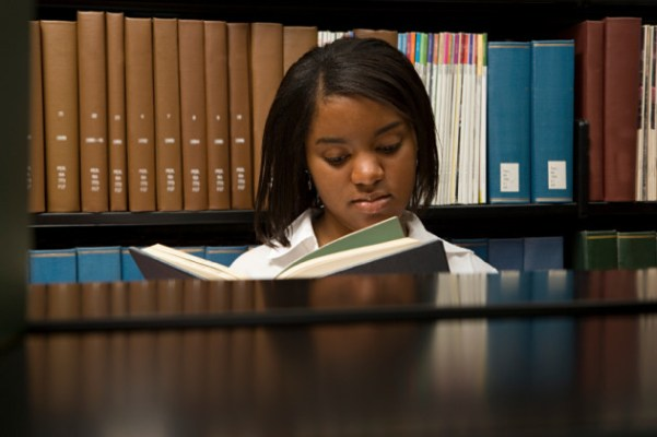 Image result for black girl in library