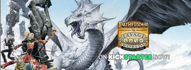 Savage Pathfinder en Kickstarter