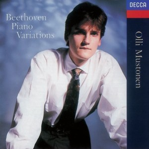 Beethoven: Piano Variations, Mustonen, CD cover