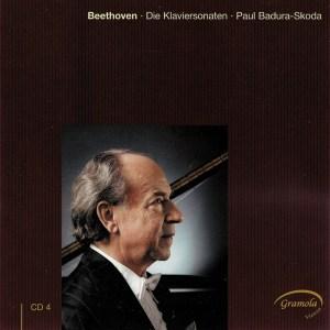 Beethoven: The Piano sonatas 4, Badura-Skoda, CD cover