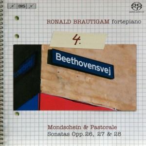 Beethoven: vol.4 - Piano sonatas opp.26, 27 & 28 — Brautigam, CD cover