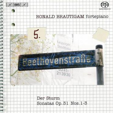 Beethoven: vol.5 - Piano sonatas op.31/1-3 — Brautigam, CD cover