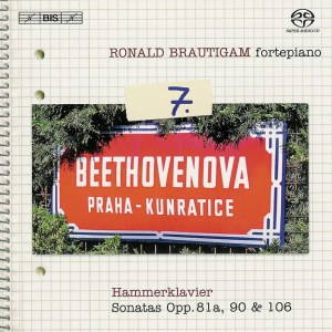 Beethoven: vol.7 - Piano sonatas opp.81a, 90, 106 — Brautigam; CD cover