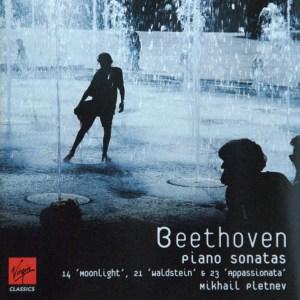 Beethoven: Piano sonatas opp.27/2, 53 & 57, Pletnev, CD cover