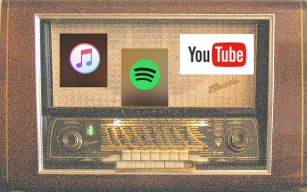 Radio vs. digital formats