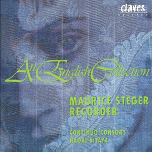 An English Collection, recorder music, Steger, Kitaya, CD cover