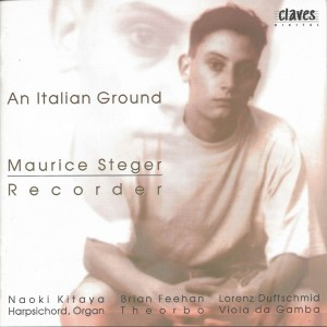 An Italian Ground, recorder music, Steger, Kitaya, CD cover