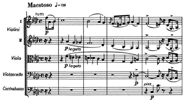 Chopin: piano concerto No.2 F minor, op.21, score sample, mvt.1, beginning
