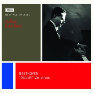 Beethoven: Diabelli Variations, Piano Sonata op.111 — Julius Katchen; CD cover