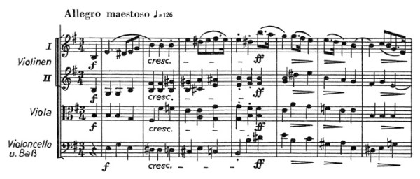 Chopin: piano concerto No.1 eminor, op.11, score sample, mvt.1