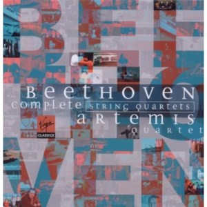 Beethoven, string quartets, Artemis Quartet, CD cover