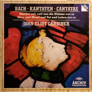 Bach: Cantatas BWV 140, 147, Gardiner, CD cover